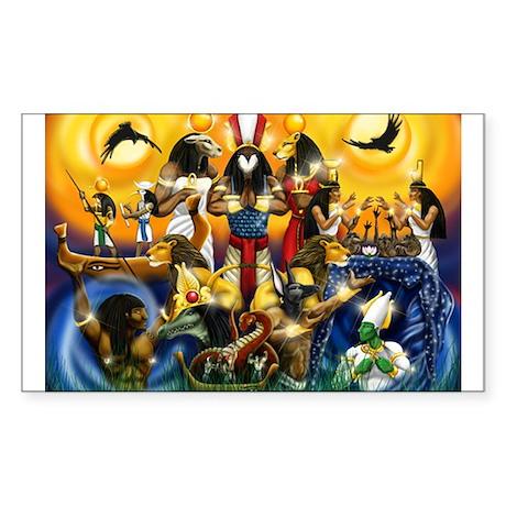 Best Seller Egyptian Sticker (Rectangle)