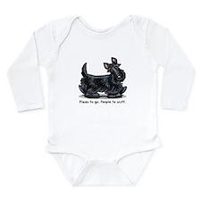 Scottie Places Long Sleeve Infant Bodysuit