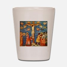 Giotto The Crucifixion Shot Glass