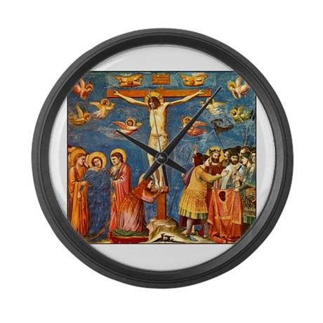 Giotto The Crucifixion Large Wall Clock