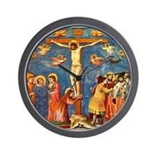 Giotto The Crucifixion Wall Clock