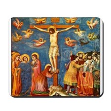 Giotto The Crucifixion Mousepad