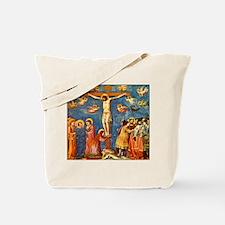 Giotto The Crucifixion Tote Bag