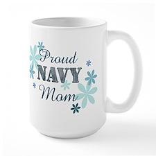 Proud Navy Mom [fl] Mug
