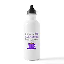 Cafe Latte Water Bottle