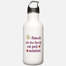 Friends Are Family Water Bottle