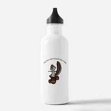 Chipmunk Nuts Water Bottle