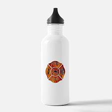 Maltese Cross Fireman Water Bottle