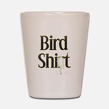 Bird Shit Shot Glass