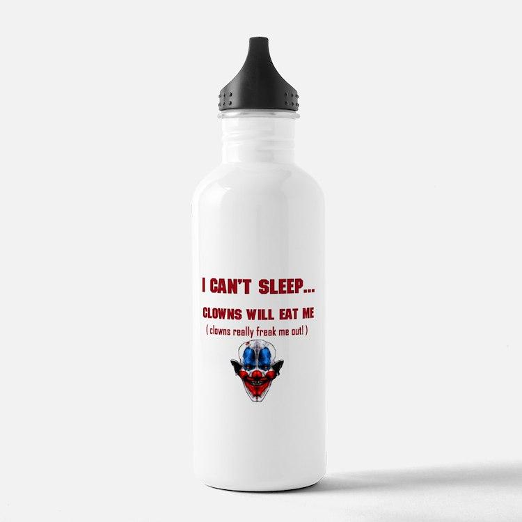 Evil Clowns Water Bottle