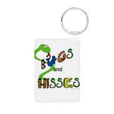 Hugs And Kisses For Boys Keychains