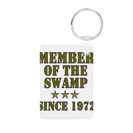 Swamp Member Aluminum Photo Keychain