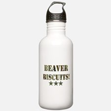 Beaver Biscuits Water Bottle