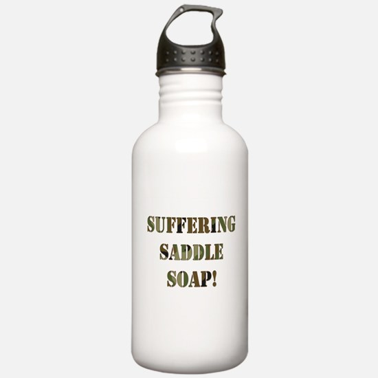 Suffering Saddle Soap Water Bottle