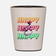 Happy Shot Glass