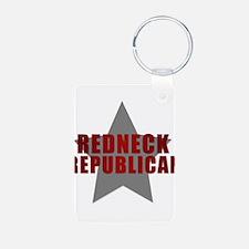 Redneck Republican Keychains