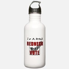 I'm a proud redneck Water Bottle