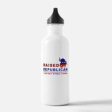 Raised Republican Water Bottle