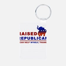 Raised Republican Keychains