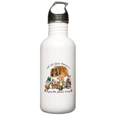 Funny Horse rescue Water Bottle