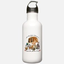 Cute Horse shelter Water Bottle