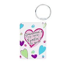 Cute I heart my nana Keychains