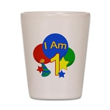 Cute Primary colors Shot Glass