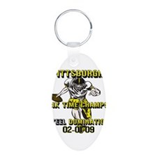 Pittsburgh Six Time Champs Keychains