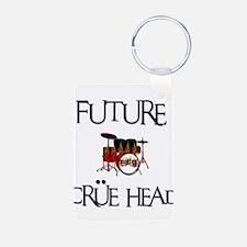 Future Crue Head Keychains