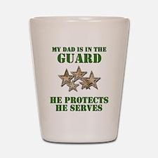 National Guard Dad Shot Glass