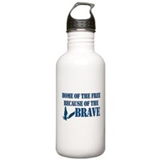 Home of the free Water Bottle