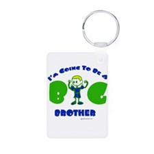 Going To Be A Big Brother Aluminum Photo Keychain