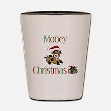 Mooey Christmas Shot Glass