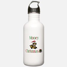 Mooey Christmas Water Bottle