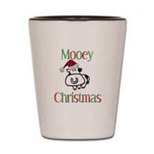 Mooey Christmas Shot Glass