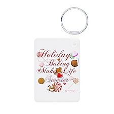 Holiday Baking Keychains