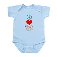Peace Love Puli Infant Bodysuit
