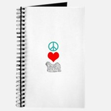 Peace Love Puli Journal