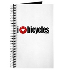 I Heart Bicycles Journal