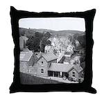 Pettigo in 1880 Throw Pillow