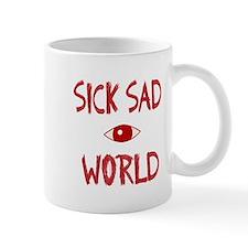 sick sad world Mug