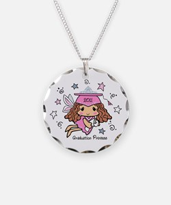 Graduation Princess 2011 Necklace Circle Charm
