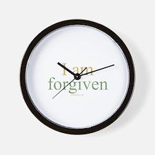 I am forgiven Wall Clock