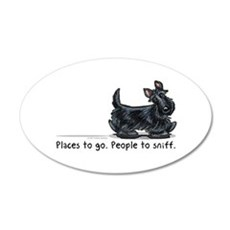 Scottie Places Wall Decal