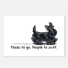 Scottie Places Postcards (Package of 8)