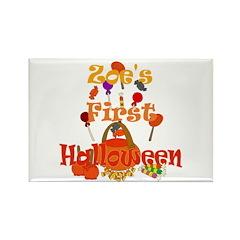 First Halloween Zoe Rectangle Magnet