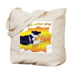 Flyball's Such A Blast! Tote Bag