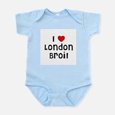I * London Broil Infant Creeper