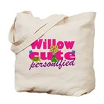 Cute Willow Tote Bag