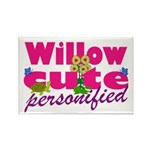 Cute Willow Rectangle Magnet (10 pack)